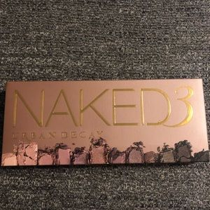 NWT Urban Decay Naked 3 Eyeshadow Palette